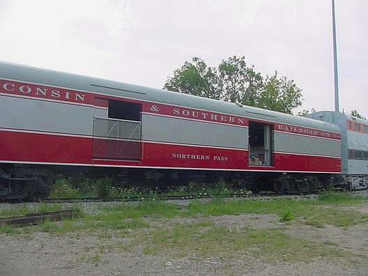 Northern Pass Baggage Car